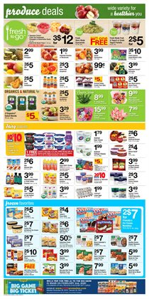 Milk deals in the ACME weekly ad in New York