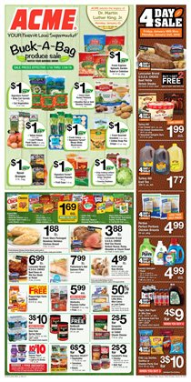 Chicken deals in the ACME weekly ad in Stamford CT