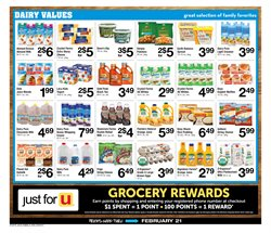 Milk deals in the ACME weekly ad in Poughkeepsie NY