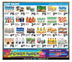 Milk deals in the ACME weekly ad in West Chester PA