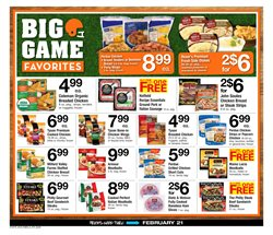 Tyson deals in the ACME weekly ad in New York