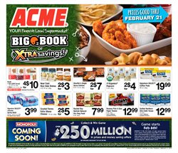 ACME deals in the Marcus Hook PA weekly ad
