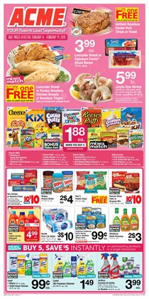 Potatoes deals in the ACME weekly ad in Poughkeepsie NY