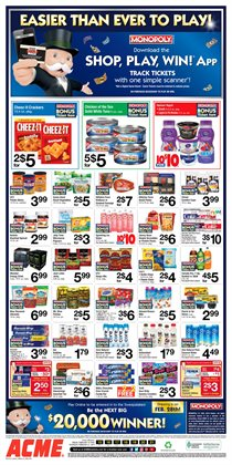 Condoms deals in the ACME weekly ad in New York