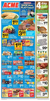 Chicken deals in the ACME weekly ad in White Plains NY