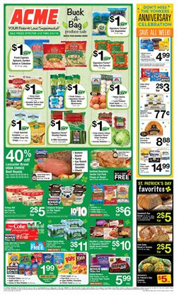 Yogurt deals in the ACME weekly ad in New York
