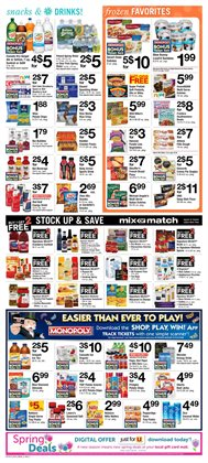 Weight Watchers deals in the ACME weekly ad in New York