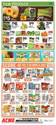 Sales deals in the ACME weekly ad in New York