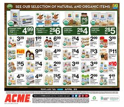 Pharmaceutical products deals in the ACME weekly ad in Poughkeepsie NY