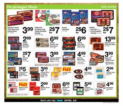 Pork deals in the ACME weekly ad in New York