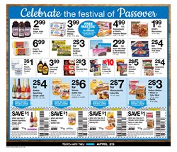 Christmas deals in the ACME weekly ad in New York