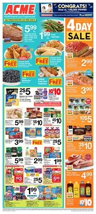 ACME deals in the Doylestown PA weekly ad