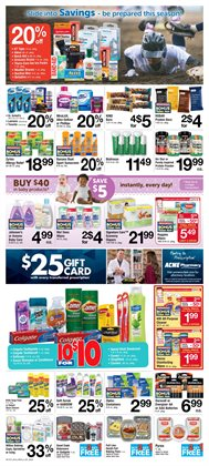 Hair conditioner deals in the ACME weekly ad in New York