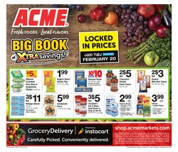 ACME deals in the Philadelphia PA weekly ad