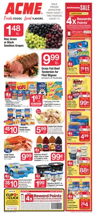 Back to school deals in the ACME catalog ( Published today)