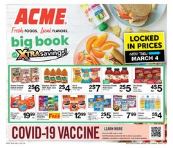 Grocery & Drug offers in the ACME catalogue ( 2 days left )