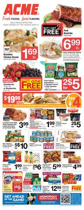 Grocery & Drug offers in the ACME catalogue ( Expires tomorrow )