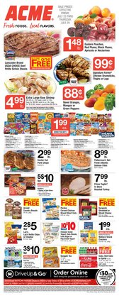 Grocery & Drug deals in the ACME catalog ( Expires tomorrow)
