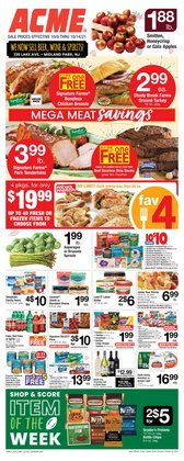 Grocery & Drug deals in the ACME catalog ( Expires today)