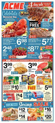 ACME deals in the New York weekly ad