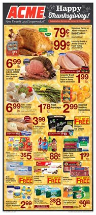 ACME deals in the Perkasie PA weekly ad