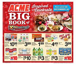 Yoplait deals in the ACME weekly ad in New York