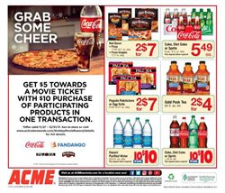 Water deals in the ACME weekly ad in New York