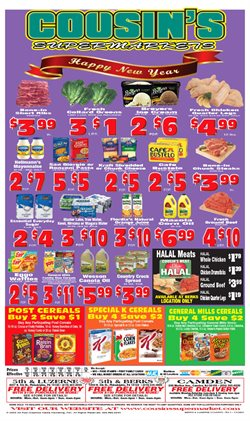 Cousin's Supermarket catalogue ( Expired )