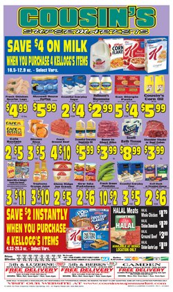 Cousin's Supermarket catalogue ( 7 days left )