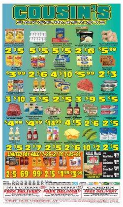 Cousin's Supermarket deals in the Cousin's Supermarket catalog ( 4 days left)