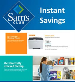 Sam's Club deals in the Chicago IL weekly ad