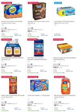 Kellogg's deals in the Sam's Club weekly ad in New York