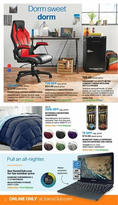 Chairs deals in the Sam's Club weekly ad in Charleston WV