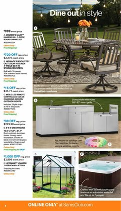 Garden deals in the Sam's Club weekly ad in Knoxville TN
