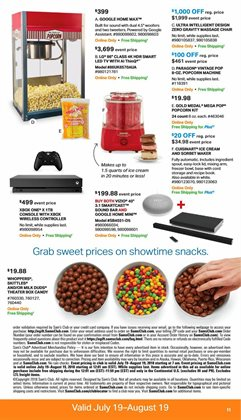 Storage deals in the Sam's Club weekly ad in Acworth GA