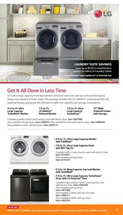 Drawers deals in the Sam's Club weekly ad in New York