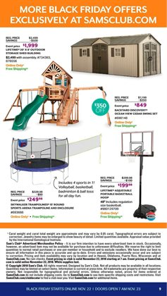 Sheds deals in the Sam's Club weekly ad in Acworth GA