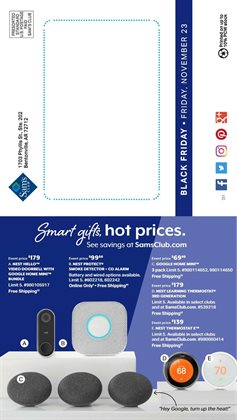 Video deals in the Sam's Club weekly ad in Idaho Falls ID
