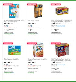 Storage deals in the Sam's Club weekly ad in New York