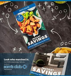 Sam's Club catalogue ( 2 days ago )
