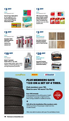 Tires deals in Sam's Club