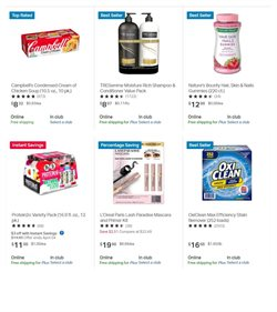 Grocery & Drug offers in the Sam's Club catalogue ( 6 days left )
