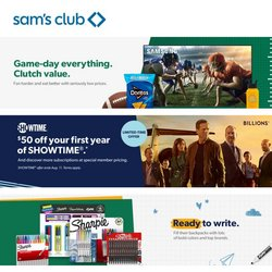 Sam's Club catalog ( 4 days left)