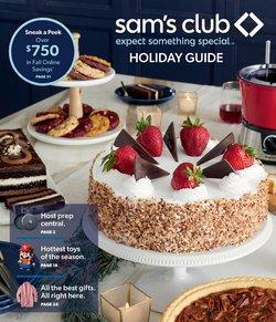 Sam's Club catalog ( More than a month)