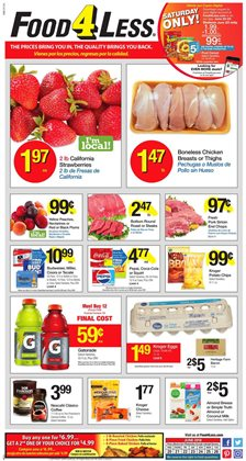 Food 4 Less deals in the Whittier CA weekly ad