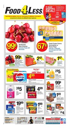 Food 4 Less deals in the Los Angeles CA weekly ad