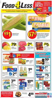 Food 4 Less deals in the Anaheim CA weekly ad