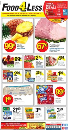 Food 4 Less deals in the Santa Ana CA weekly ad