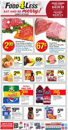Food 4 Less deals in the North Hollywood CA weekly ad