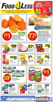 Food 4 Less deals in the Van Nuys CA weekly ad
